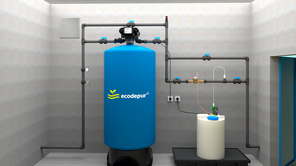 TERTIARY TREATMENT | DISINFECTION SYSTEM for WWTP ECODEPUR® SBR