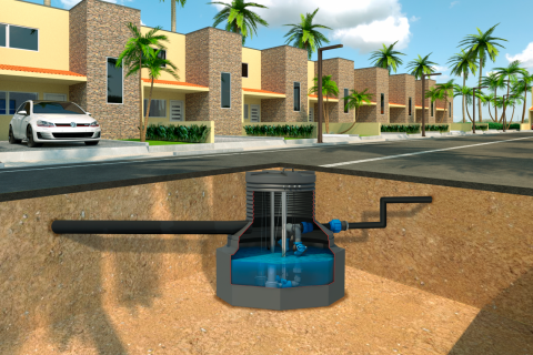 COMPACT PUMPING STATION
